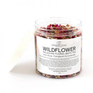 natural bathing flowers herbs