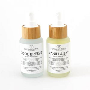 natural body spray safe Australia