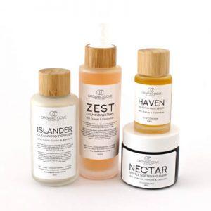low allergen calm skin care set pure ingredient natural